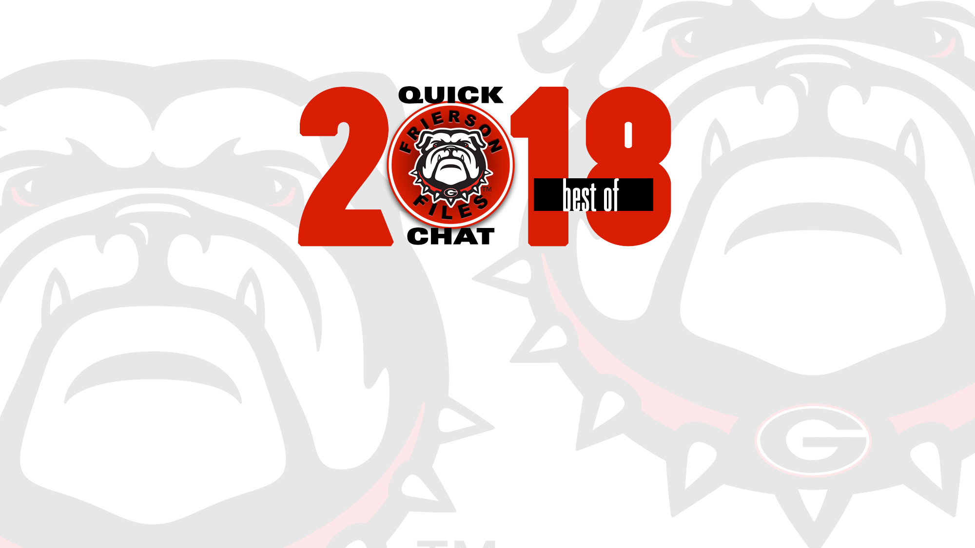 05eee96e5a2 Quick Chat  Best Of 2018 - University of Georgia Athletics