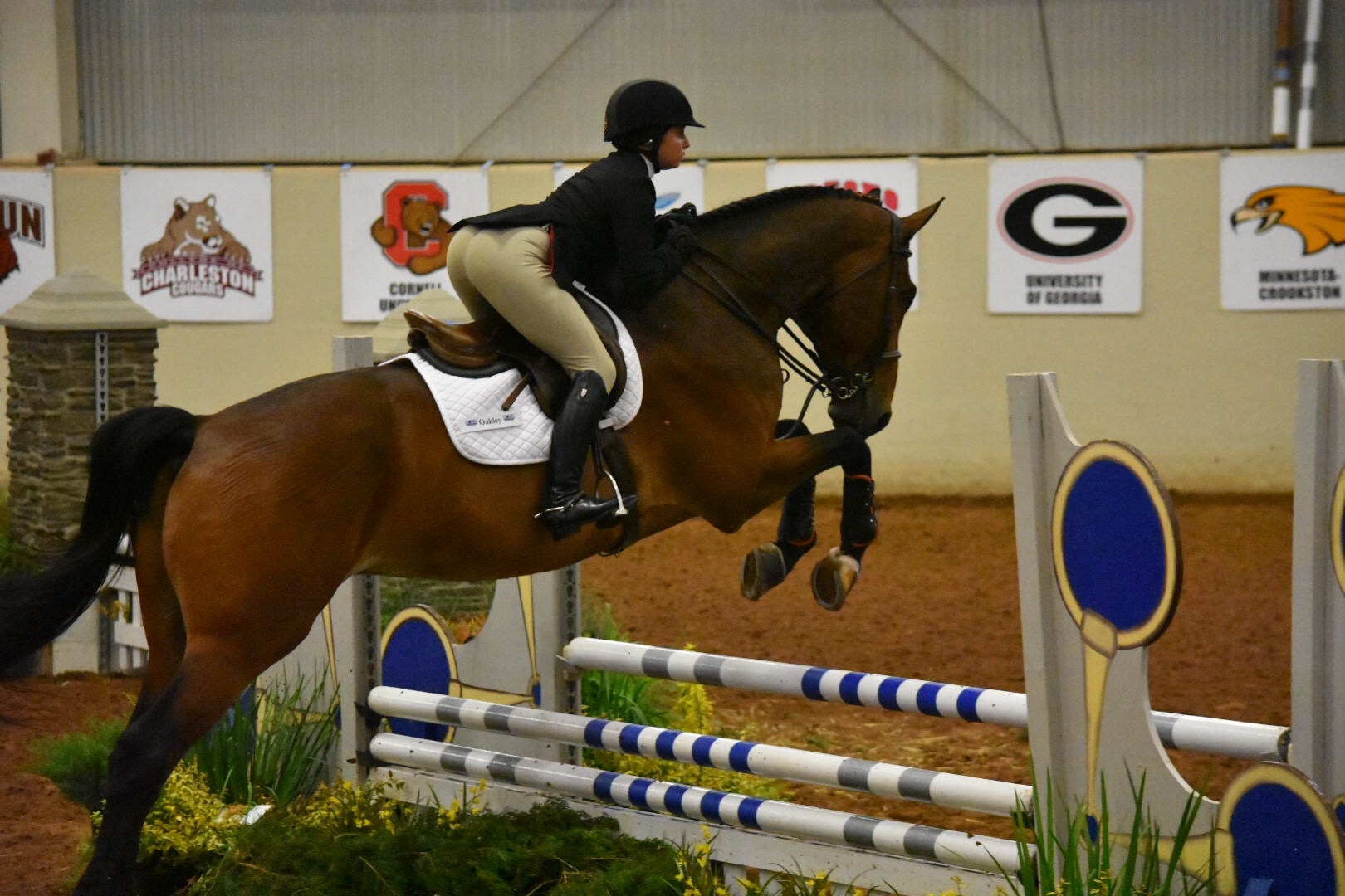 Georgia Sweeps Fences on Day One of NCEA Championships