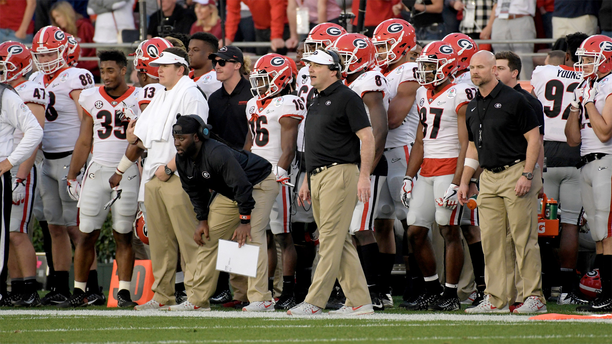 Uga Coaches Wear Coach To Cure Md Patches