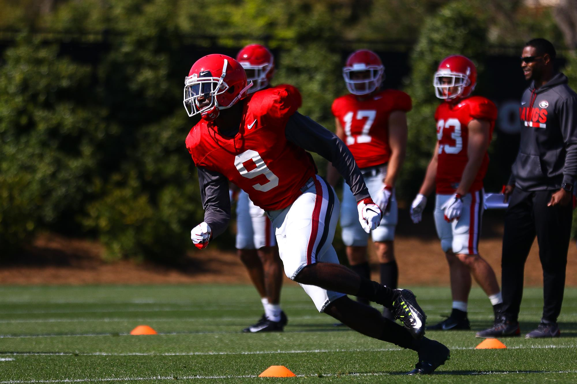 3d64f6c54 Bulldogs Near The Middle Of Spring Practices - University of Georgia ...