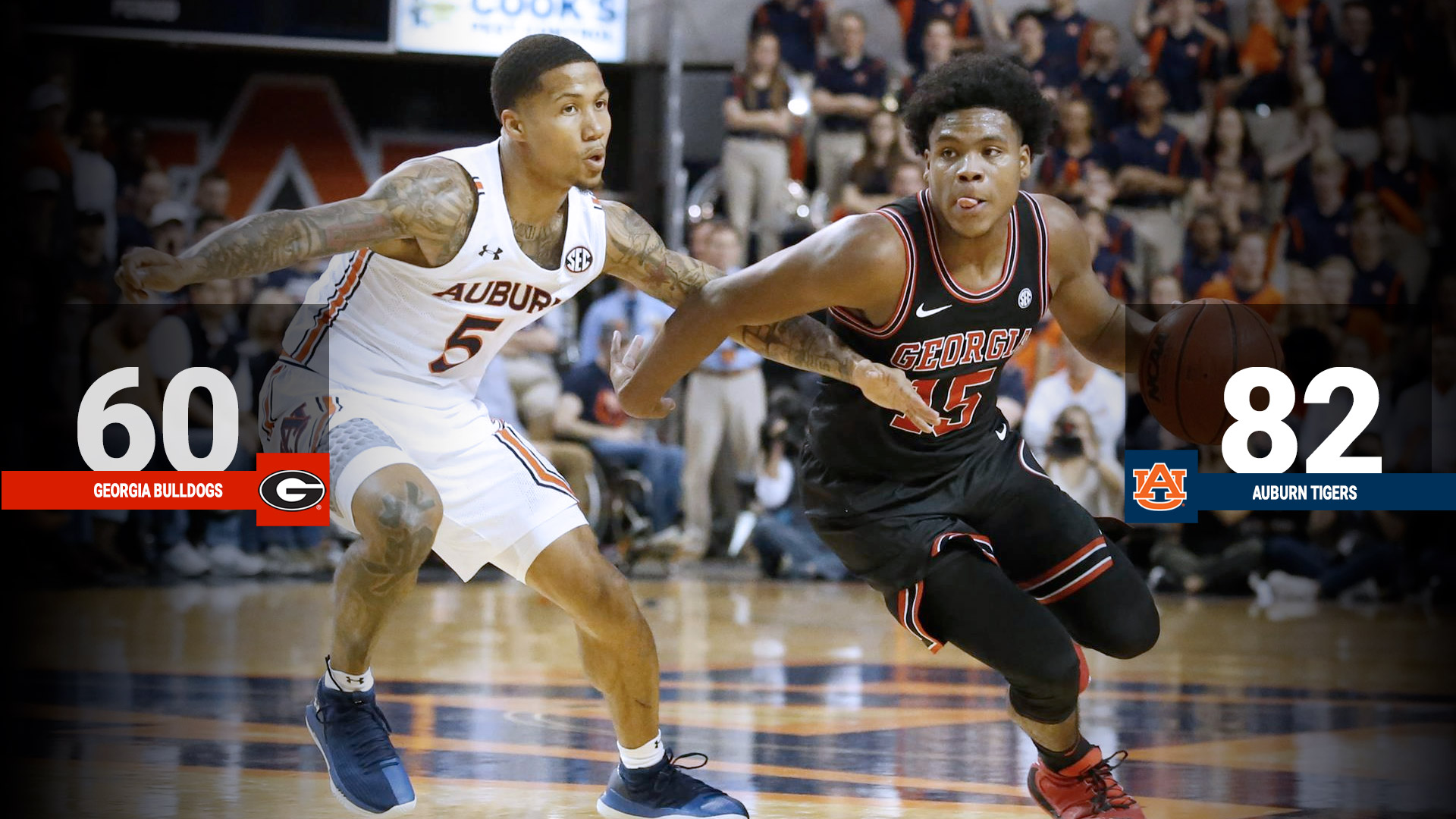 Bulldogs Drop Road Matchup To No 5 Auburn University Of