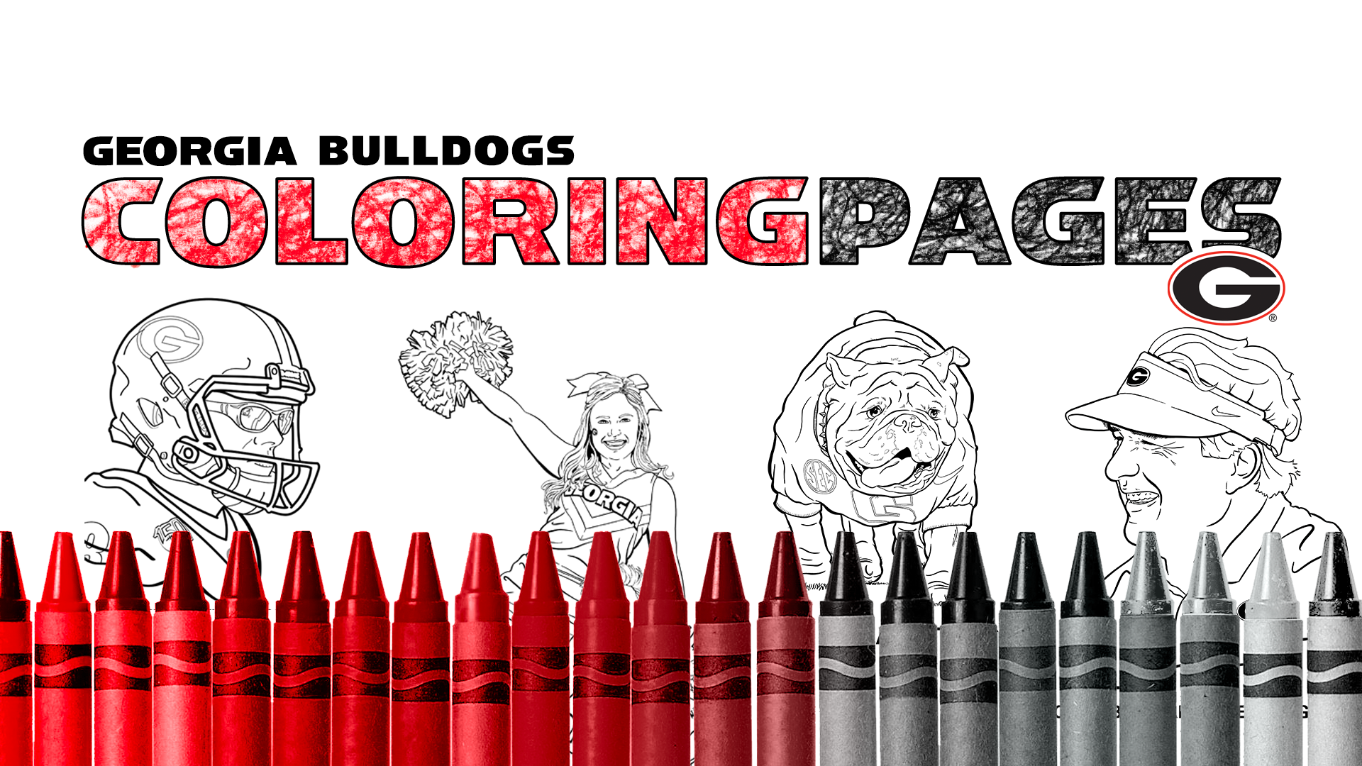 - Georgia Bulldogs Coloring Pages - University Of Georgia Athletics